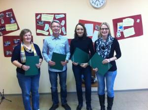 Tanja Quinten, Michael Kuhn, Maria , Kathrin Bohlen